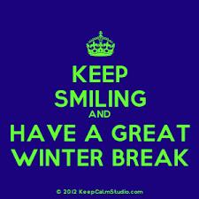 keep smiling wint break
